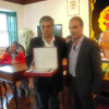 Município homenageou Grupo Desportivo de Tondela pela subida à Liga de Honra