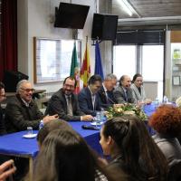 Secretário de Estado avaliou oferta formativa na Secundária Viriato
