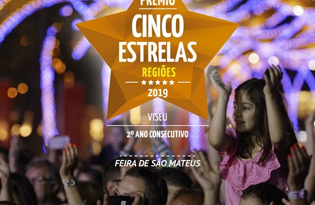 Feira de São Mateus renova Prémio «Cinco Estrelas Regiões»
