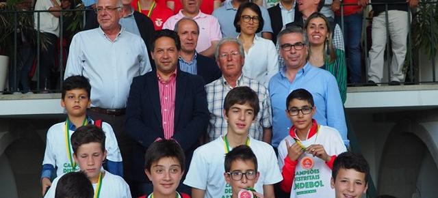 Campeões do Molelos homenageados na Câmara de Tondela