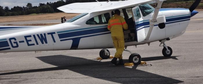 Aeródromo de Viseu acolhe Centro de Formação Aeronáutica