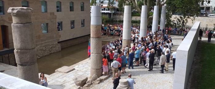 Balneário Romano renasce das ruínas nas Termas de São Pedro do Sul