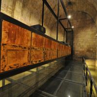 Pintura inédita na cisterna de Lamego