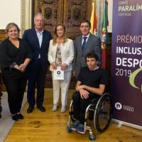 Município de Viseu recebe Prémio «Inclusão pelo Desporto»