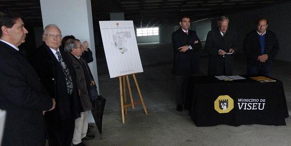 Cave da Igreja Madre Rita vai concentrar Arquivo Municipal de Viseu