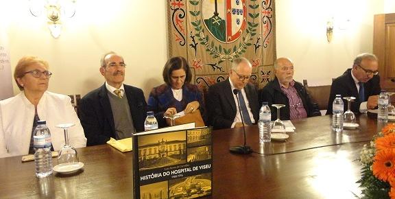 Luís de Carvalho dá à estampa 8 anos de história do Hospital de Viseu