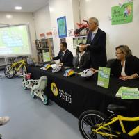 «Viseu Educar» disponibiliza 210 bicicletas no ensino básico e pré-escolar