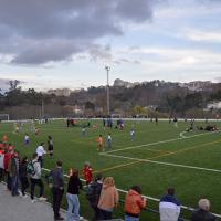 Jovens talentos inauguraram novo campo de futebol na Quinta da Cruz