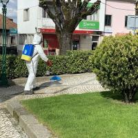 Desinfeção do espaço público no concelho de Mangualde