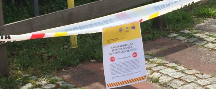 Município de Viseu encerra Ecopista do Dão no concelho