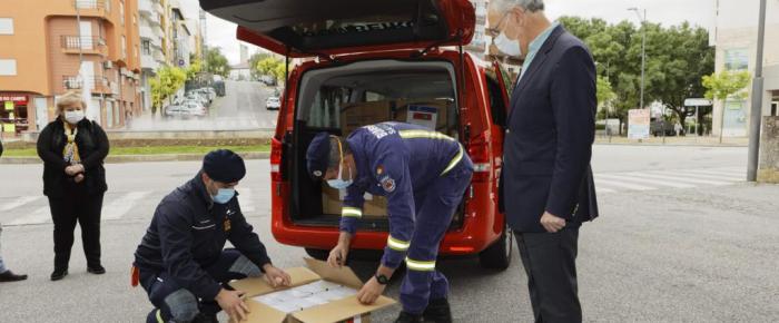 Empresário chinês doa 90 mil máscaras ao município de Viseu