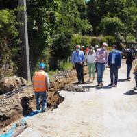 Rede de águas e esgotos ao Caramulo ficará concluída até março de 2021