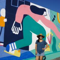 Viseense Ana Seixas estreia-se no Street Art com mensagem para o futuro