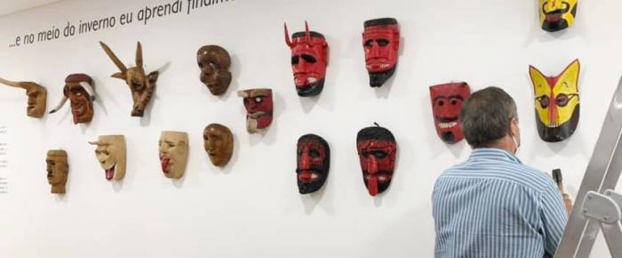 Rituais de inverno com máscaras no CIMI de Lazarim (Lamego)