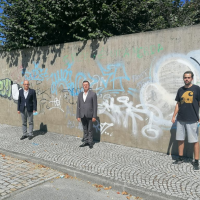Street Art chega a Mangualde