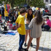 Mercado 2 de Maio uma praça a arder de gente