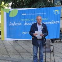 Candidato da CDU volta a agitar a bandeira da Universidade Pública em Viseu